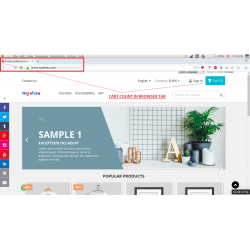 Browser Tab Notifications – Cart Count in Tab - Cart Remainder
