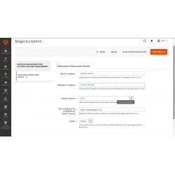 Magento Geolocation Redirect Visitor Country