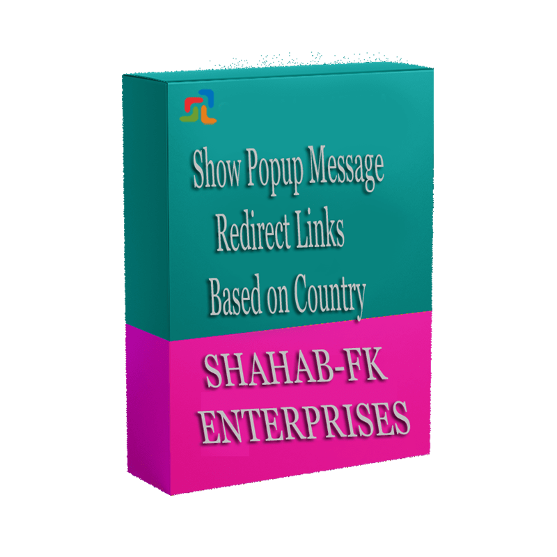 PrestaShop Show Popup Message and Redirect Links Based on Country - 1