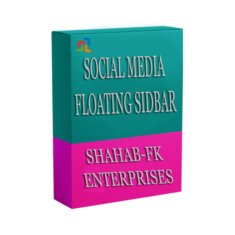 PrestaShop Social Media like Floating Sidebar on Left and Right Side of the Home Page - 1